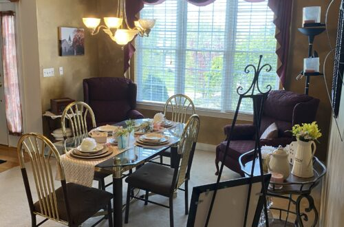 Dining room, dining room renovations, before picutre, one room challenge