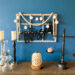 DIY wall decor, farmhouse decor, dining decor, wood words, rustic decor