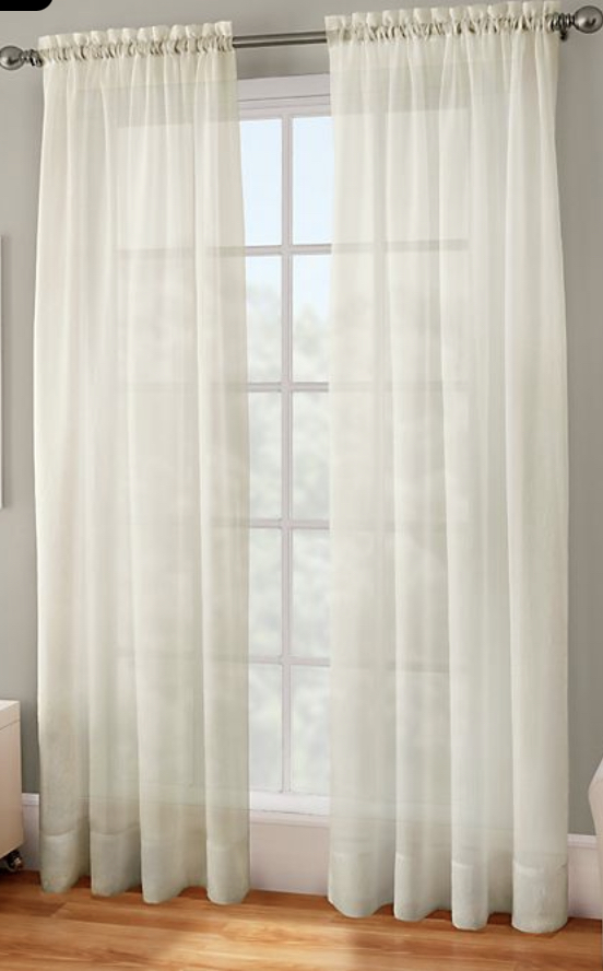 Curtains, sheer curtains, window treatment, dining curtains, dining sheers, sheers