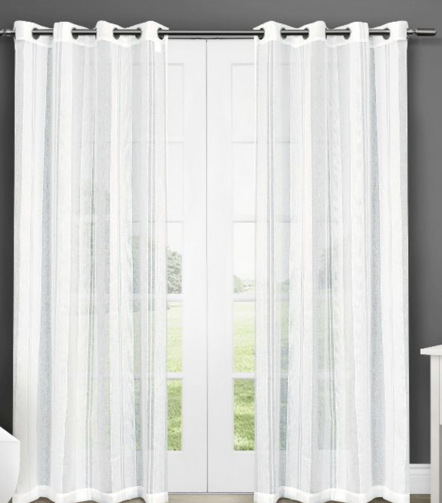 Curtains, dining curtains, sheet curtains, window treatments, sheers,