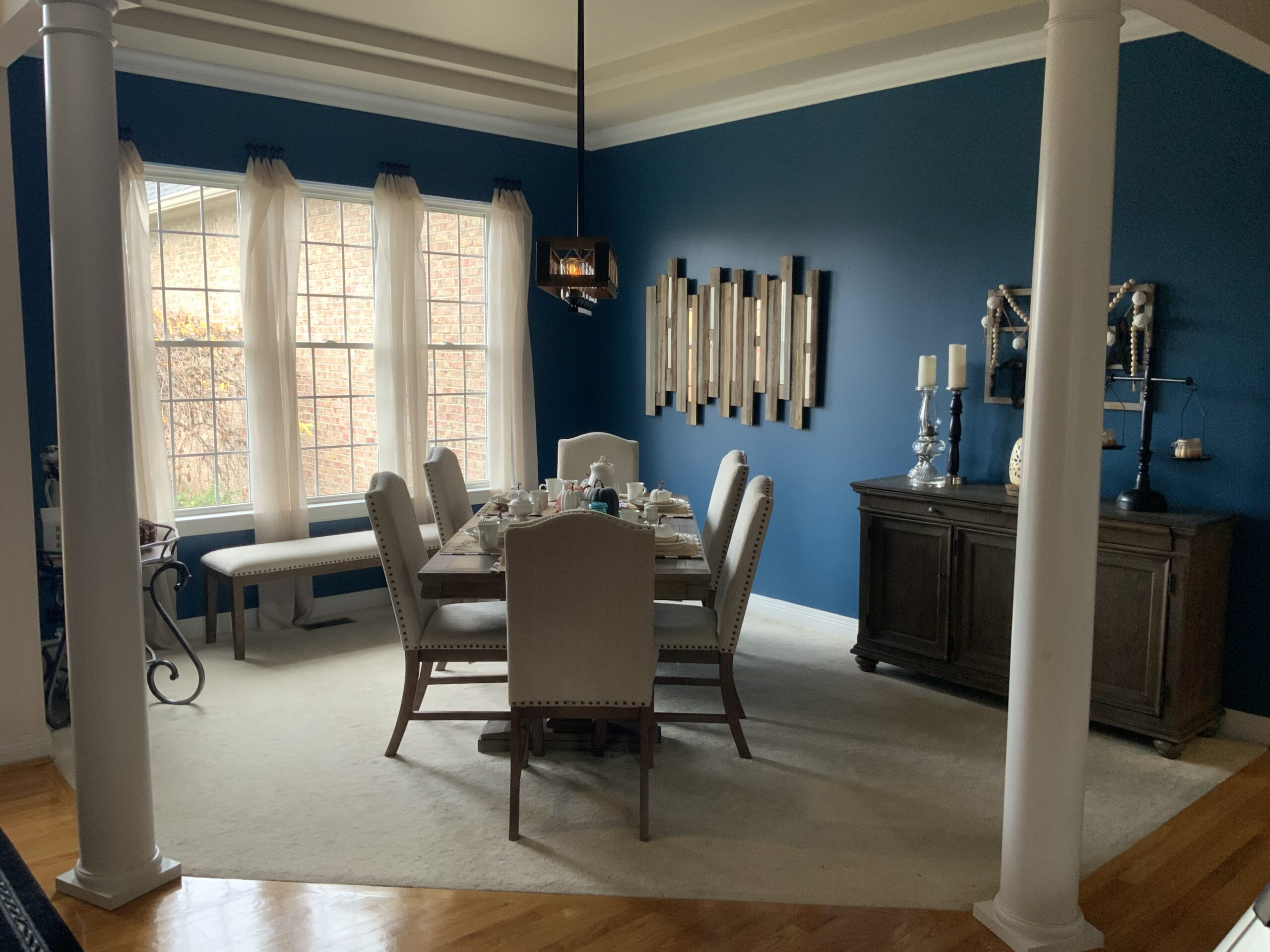 One Room Challenge, Dining Room