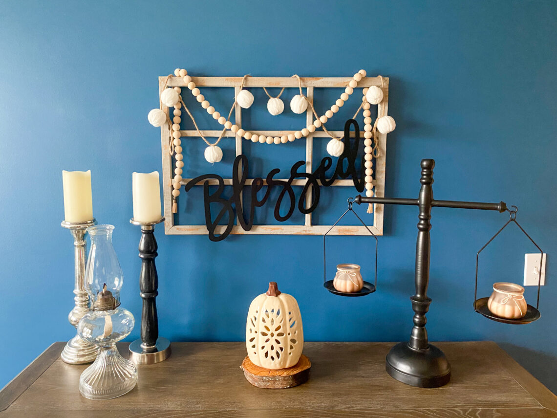 DIY wall decor, farmhouse decor, dining decor, wood words, rustic decor